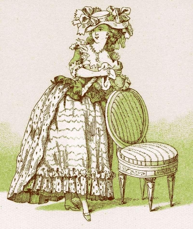 Marie-Antoinette, Vintage ! French12