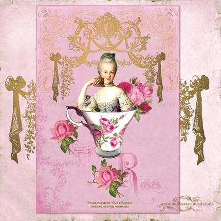 Marie-Antoinette, Vintage ! High-t10