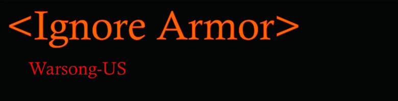 Ignore Armor