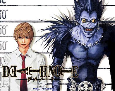 DeathNote categorizado como el mejor anime del año Deathn10