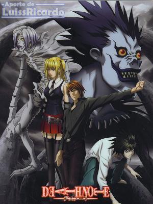 DeathNote categorizado como el mejor anime del año Deathn11
