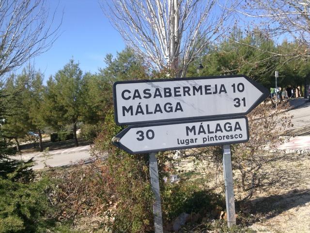 Malaga,Casabermeja,Colmenar,El leon,Malaga 11032019