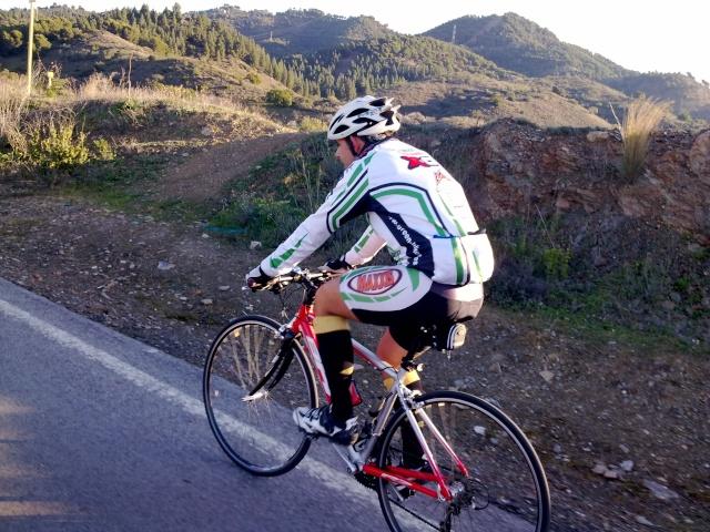 Malaga Colmenar por los montes de Malaga 29012012