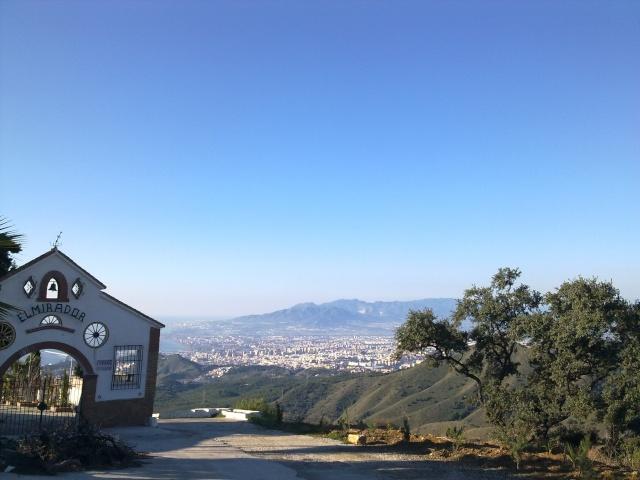 Malaga Colmenar por los montes de Malaga 29012013