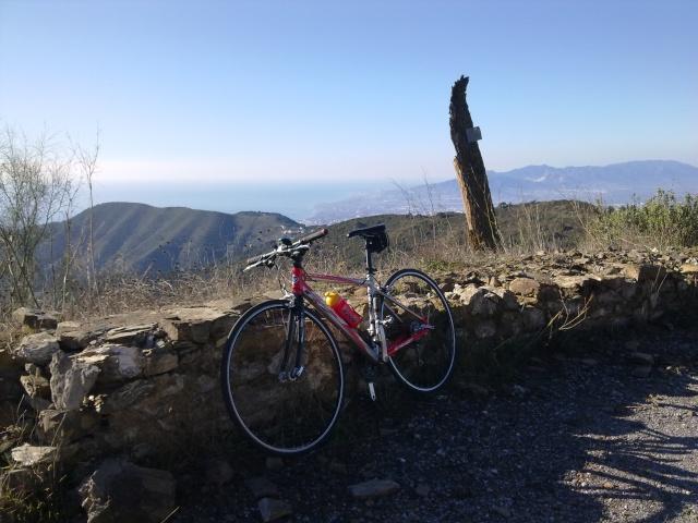 Malaga Colmenar por los montes de Malaga 29012014