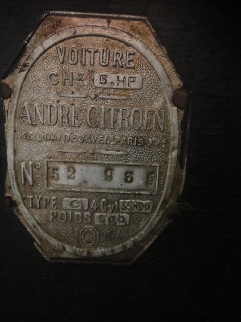 restauration 5hp trefle 1925 N° 52935 Dsc01813