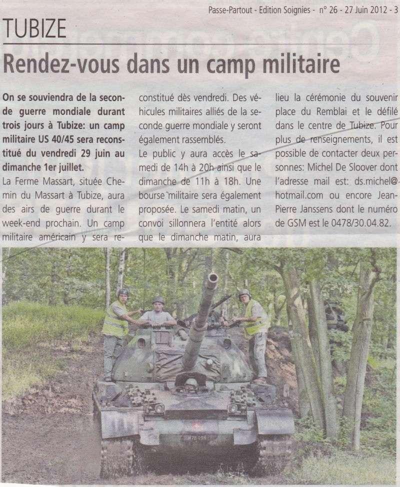 Camp de Tubize - 29 juin au 01 juillet 2012. Dick111