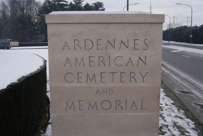 Visite des Cimetières US - 12 février 2012. Dsc02513