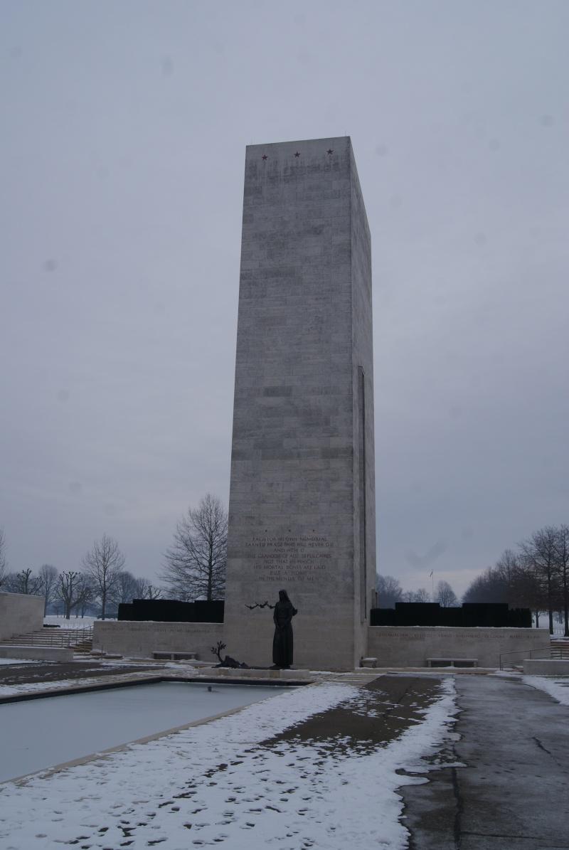Visite des Cimetières US - 12 février 2012. Dsc02612