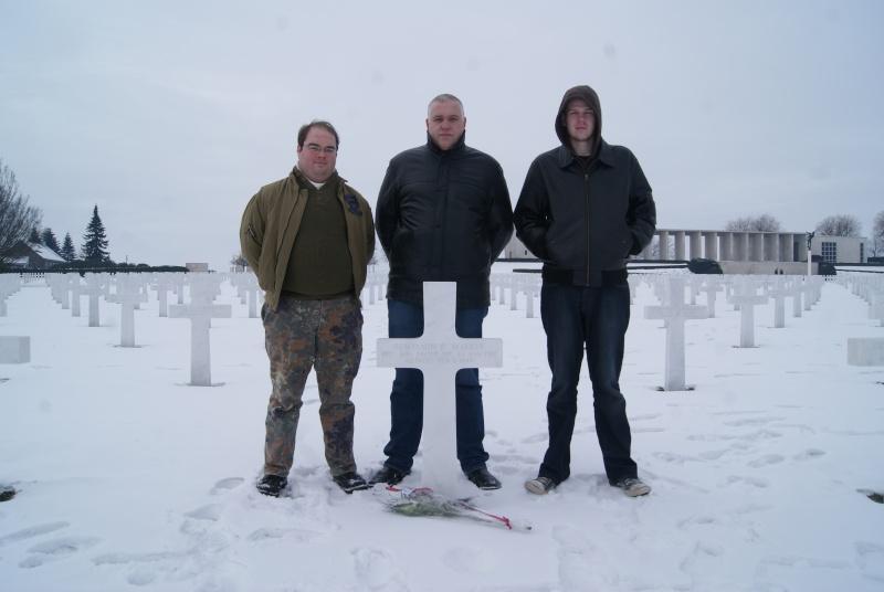 Visite des Cimetières US - 12 février 2012. Dsc02615
