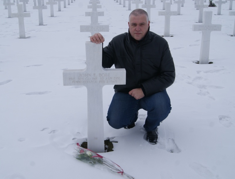 Visite des Cimetières US - 12 février 2012. Dsc02619
