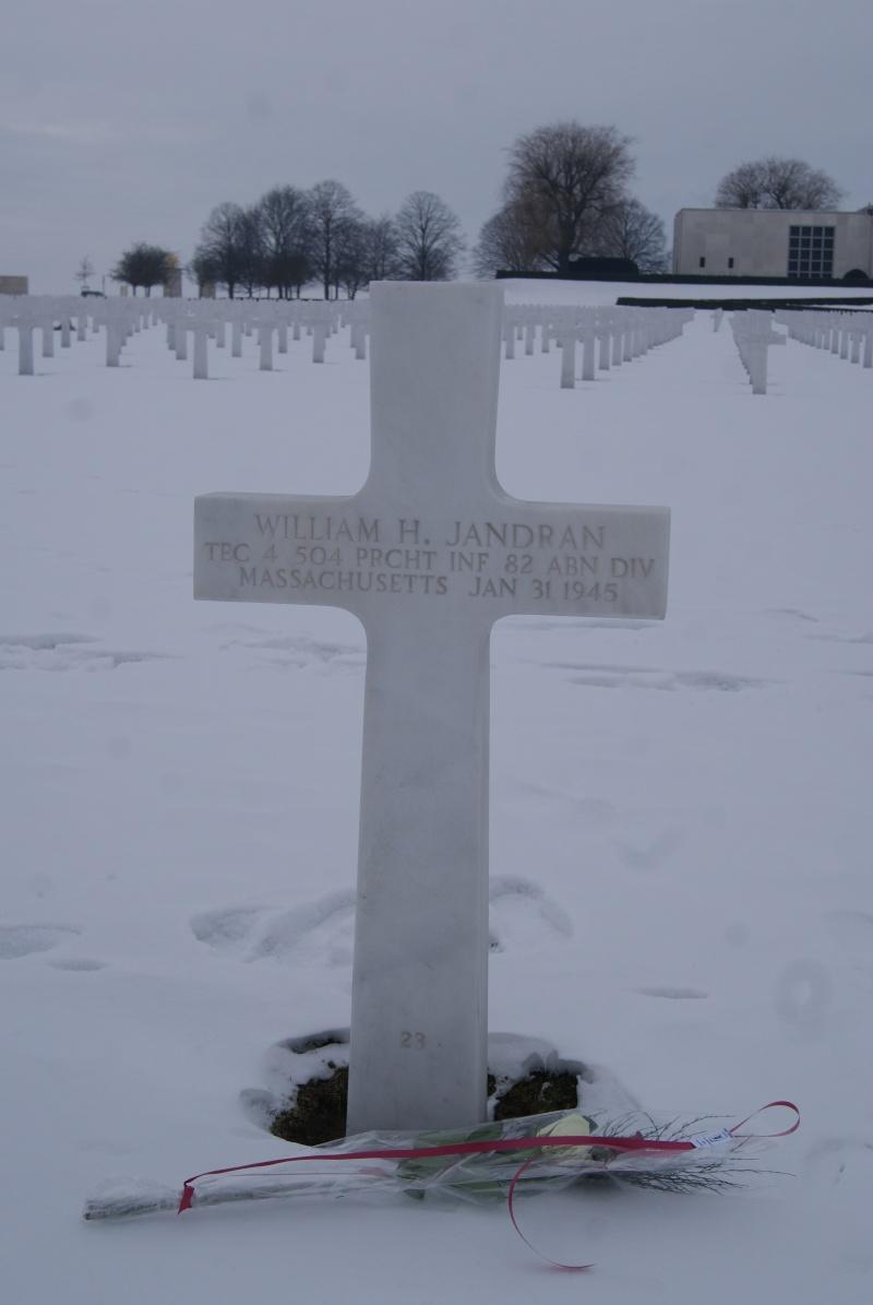 Visite des Cimetières US - 12 février 2012. Dsc02633