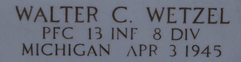 Cimetière Américain - Margraten ( Hollande ) Dsc02651