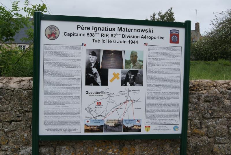 Monument WW2 - Picauville ( Normandie ) Dsc04337
