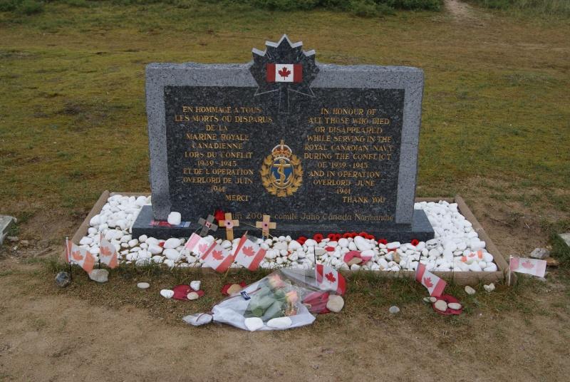 Monument WW2 - Courseulle sur Mer ( Normandie ) Dsc06826