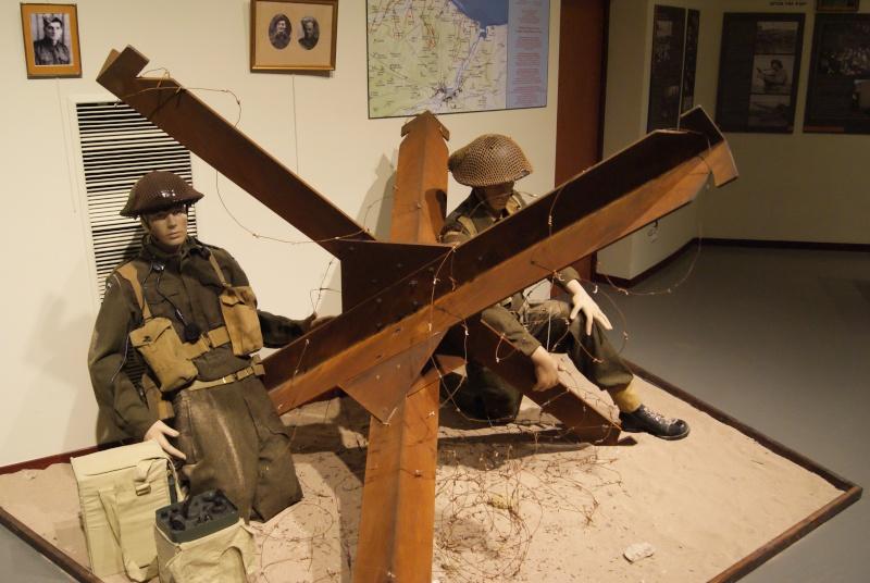 Musée WW2 - Courseulle sur Mer ( Normandie ) Dsc06912