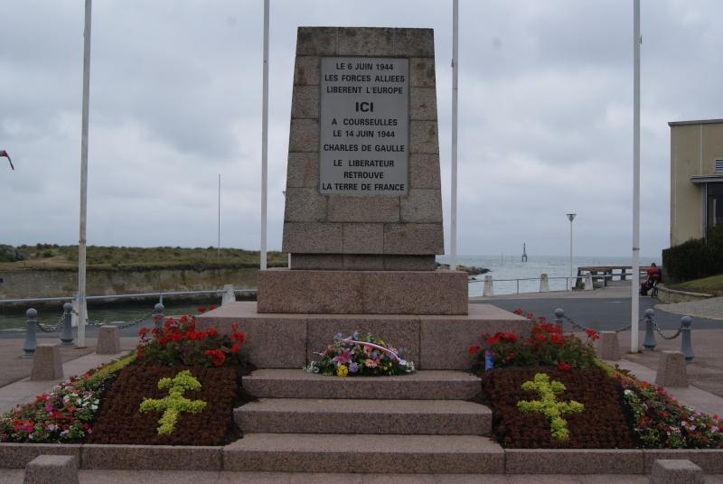 Monument WW2 - Courseulle sur Mer ( Normandie ) Dsc06923