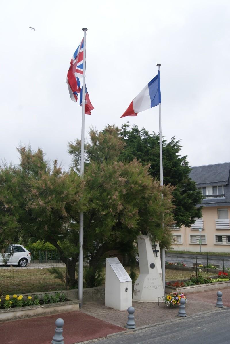 Monument WW2 - Courseulle sur Mer ( Normandie ) Dsc06927