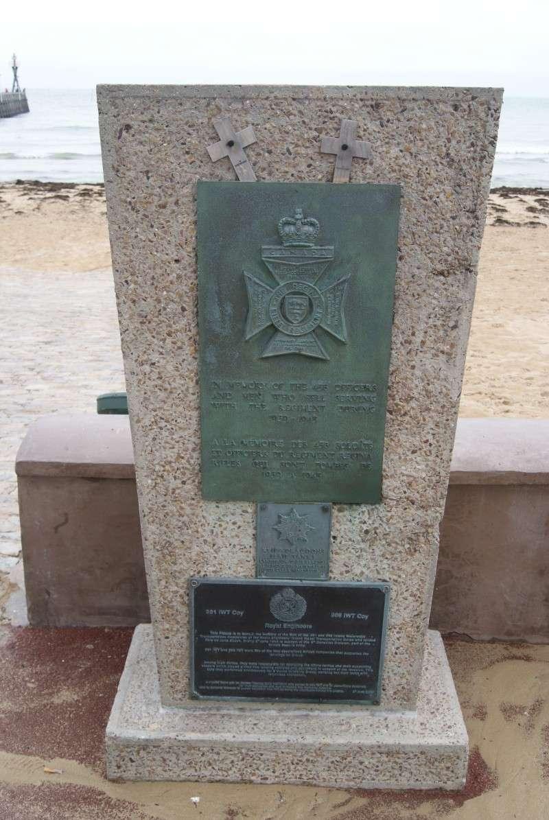 Monument WW2 - Courseulle sur Mer ( Normandie ) Dsc06929