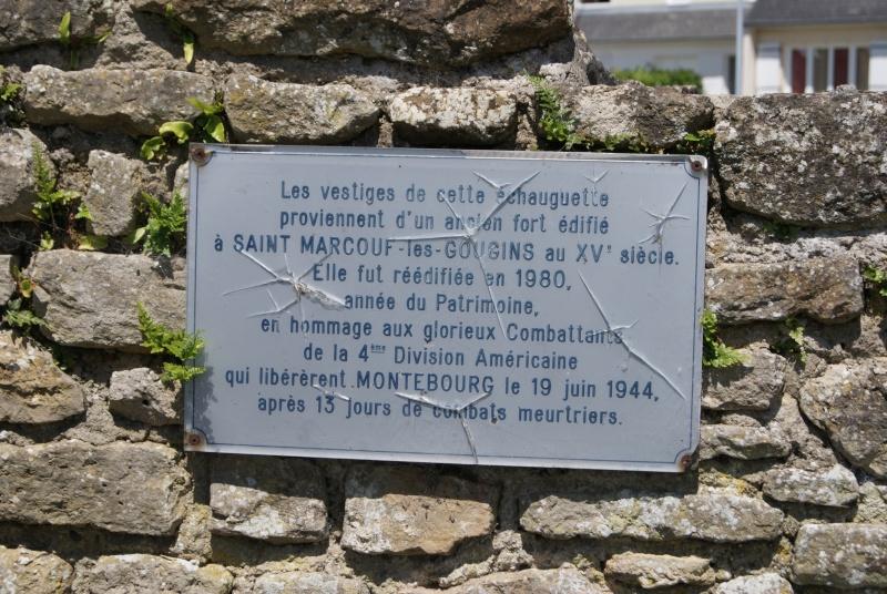 Monument WW2 - Montebourg ( Normandie ) Dsc08613