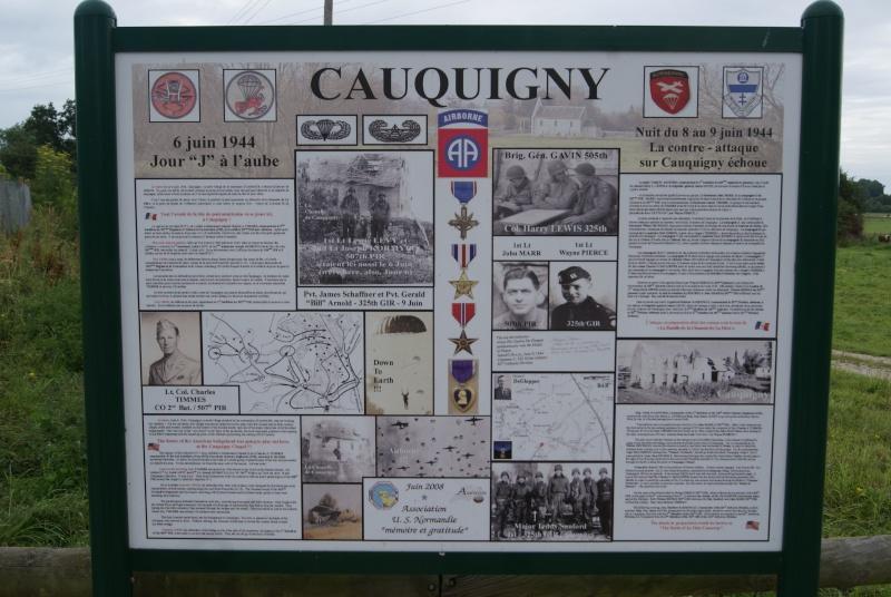 Monument WW2 - Cauquigny  ( Normandie ) Dsc08910