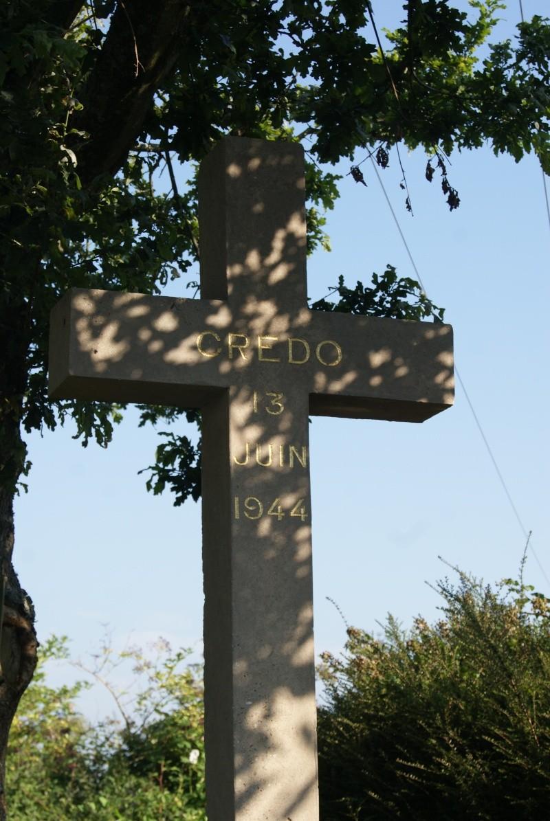 Monument WW2 - Meautis ( Normandie ) Dsc09624