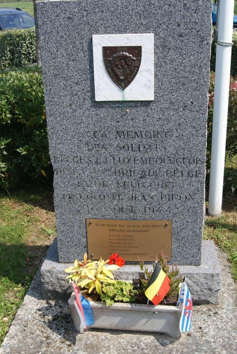 Monuments WW2 dédiés à la Brigade Piron. ( Normandie ) Dsc09921