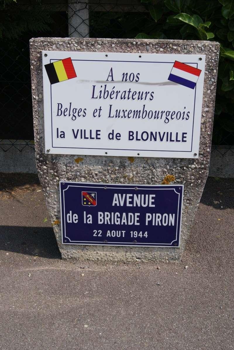 Monuments WW2 dédiés à la Brigade Piron. ( Normandie ) Dsc09935
