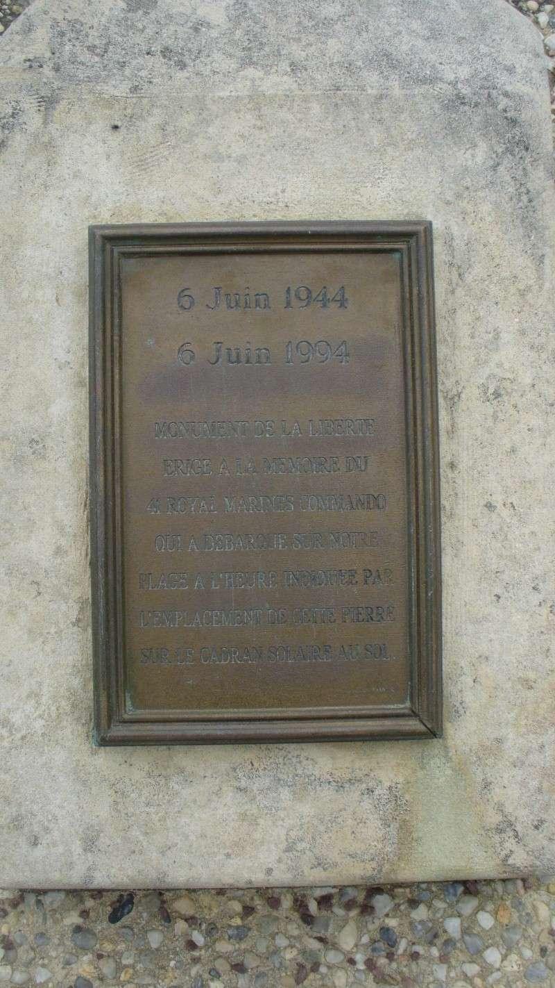 Monument WW2 - Lion-sur-Mer ( Calvados - Normandie ) P1080220