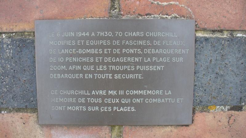 Monument WW2 - Hermanville-sur-Mer ( Calvados - Normandie ) P1080226