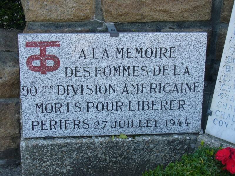 Monument WW2 - Périers ( Manche - Normandie ) P1080519