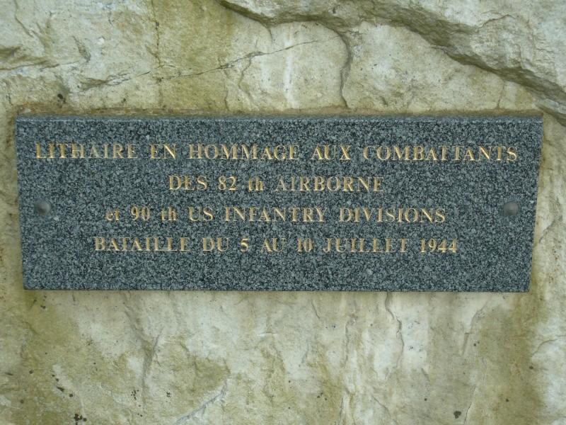 Monument WW2 - Lithaire ( Manche - Normandie ) P1080536