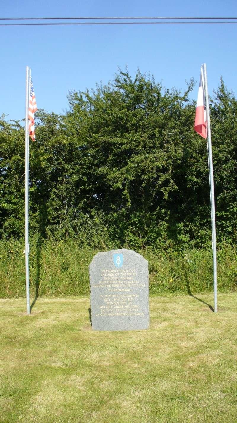 Monument WW2 - Millieres ( Manche - Normandie )  P1080542