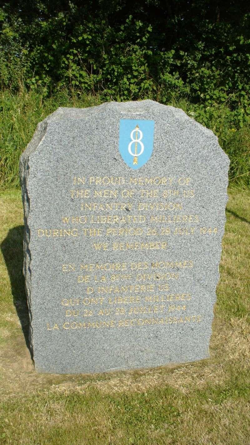 Monument WW2 - Millieres ( Manche - Normandie )  P1080543