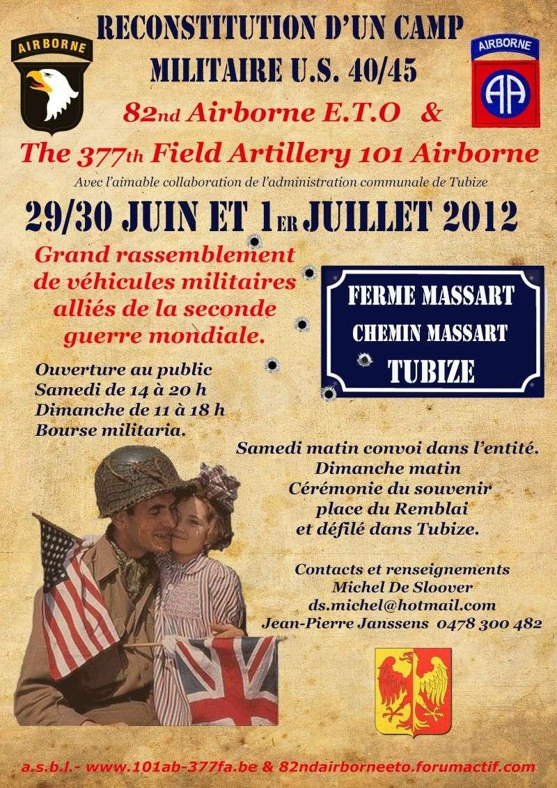 Camp de Tubize - 29 juin au 01 juillet 2012. Tubize15