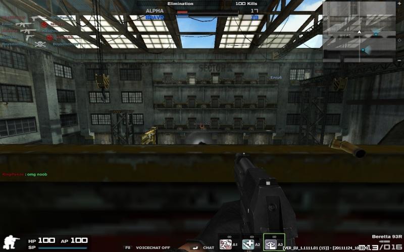 Petit gameplay avec les nouvelles armes ! + test Fraps Combat64