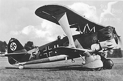 avion allemand  atterri en juillet 44 en Normandie Hs123a10