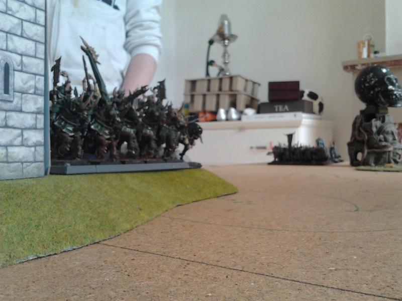 Rapport de bataille: Guerrier du chaos de Nurgle VS Hauts-elfes (pitoyables) 2012-064