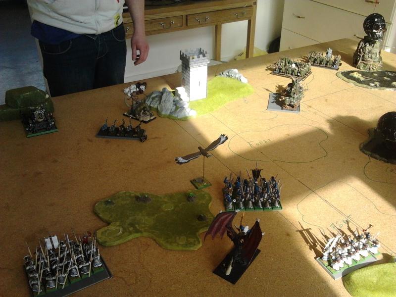 Rapport de bataille: Guerrier du chaos de Nurgle VS Hauts-elfes (pitoyables) 2012-078