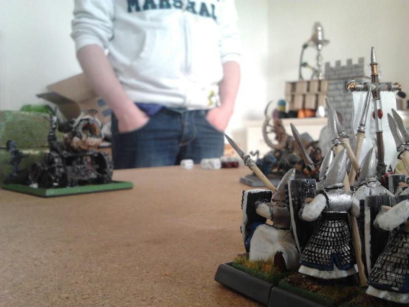 Rapport de bataille: Guerrier du chaos de Nurgle VS Hauts-elfes (pitoyables) 2012-079