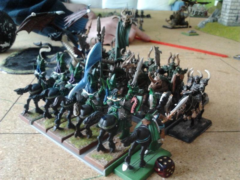 Rapport de bataille: Guerrier du chaos de Nurgle VS Hauts-elfes (pitoyables) 2012-085