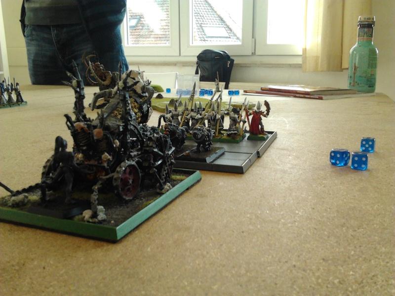 Rapport de bataille: Guerrier du chaos de Nurgle VS Hauts-elfes (pitoyables) 2012-092