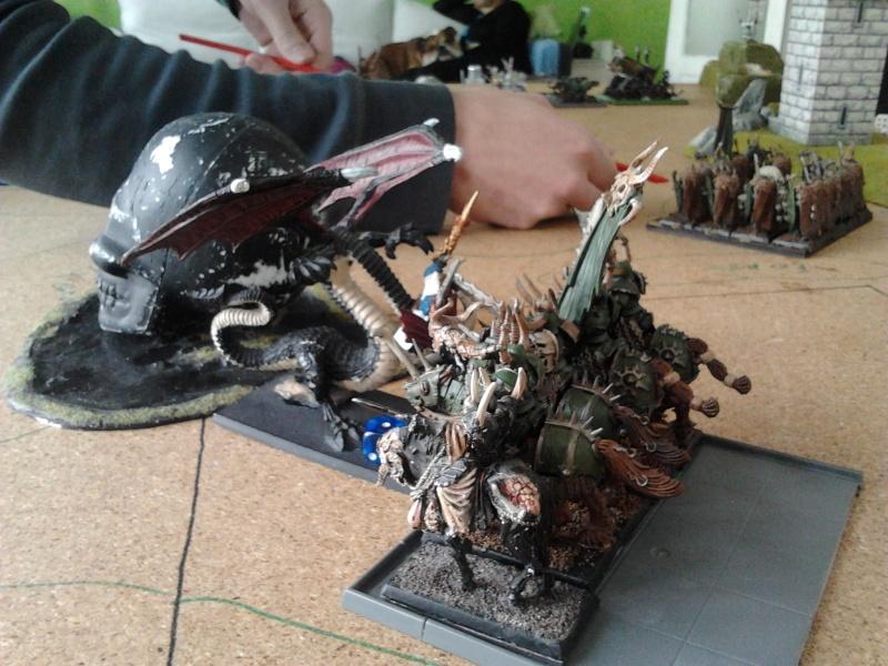 Rapport de bataille: Guerrier du chaos de Nurgle VS Hauts-elfes (pitoyables) 2012-093