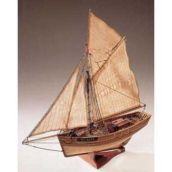 Cotre  de  contrebande 1780   (ex Camaret , 1/35e  kit  constructo  Camare19