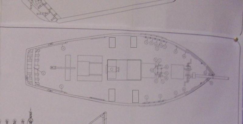 Cotre  Pirate  (ex Camaret 1/35e) Pont_m10