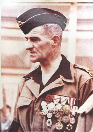 Le chef de bataillon de Lanlay et le 2/6ème RTM Algeri10