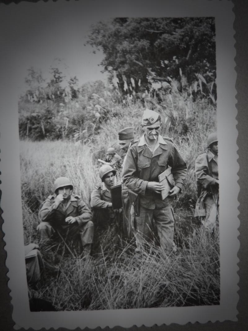 Le chef de bataillon de Lanlay et le 2/6ème RTM P1000411