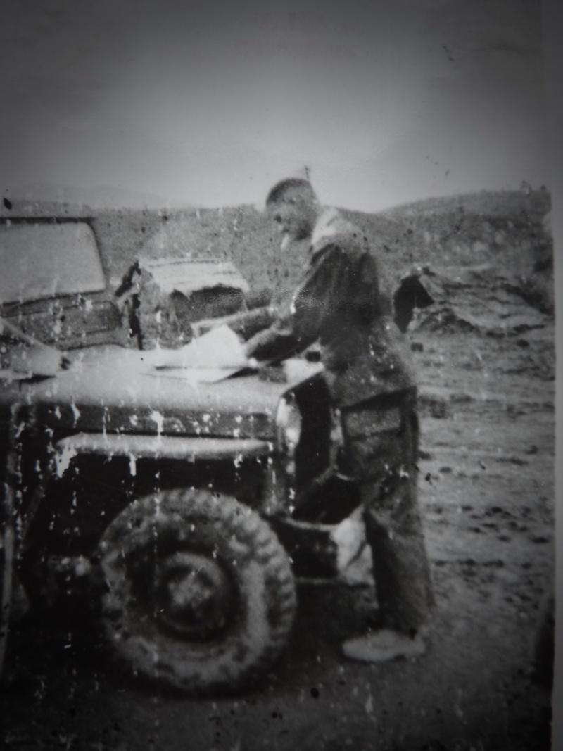 Le chef de bataillon de Lanlay et le 2/6ème RTM P1000417