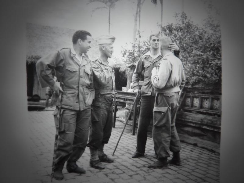 Le chef de bataillon de Lanlay et le 2/6ème RTM P1000421