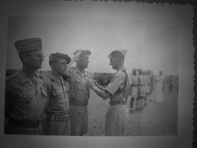 Le chef de bataillon de Lanlay et le 2/6ème RTM P1000422